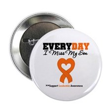 "Leukemia MissMySon 2.25"" Button"