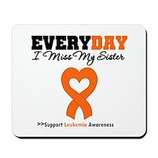 Leukemia MissMySister Mousepad