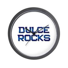 dulce rocks Wall Clock
