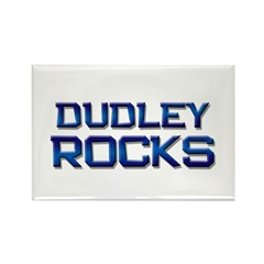 dudley rocks Rectangle Magnet