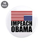 "Impeach Obama 3.5"" Button (10 pack)"