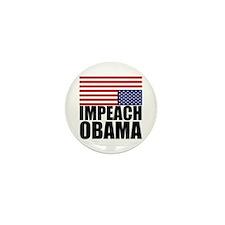 Impeach Obama Mini Button (10 pack)