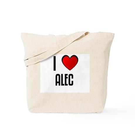 I LOVE ALEC Tote Bag
