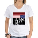 Impeach Obama Women's V-Neck T-Shirt