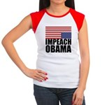 Impeach Obama Women's Cap Sleeve T-Shirt