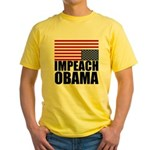 Impeach Obama Yellow T-Shirt