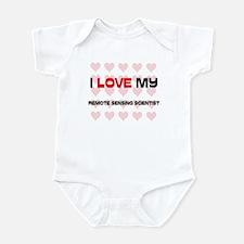 I Love My Remote Sensing Scientist Infant Bodysuit
