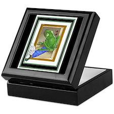 Raptured Frog on Keepsake Box