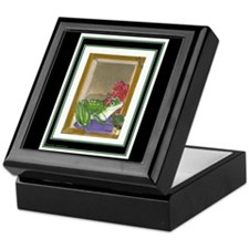 Frog Maiden on Keepsake Box