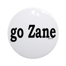 go Zane Ornament (Round)