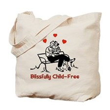 Blissful Child-Free Couple Tote Bag