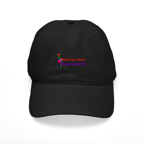 Child-Free To Be Me Black Cap