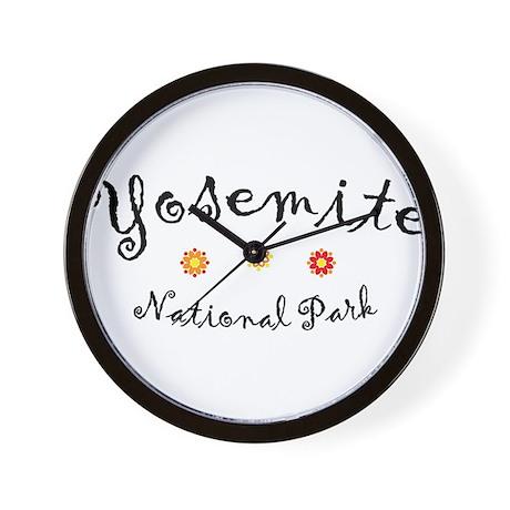 Yosemite Super Cute Wall Clock