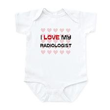 I Love My Radiologist Infant Bodysuit