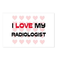 I Love My Radiologist Postcards (Package of 8)