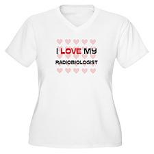 I Love My Radiobiologist T-Shirt