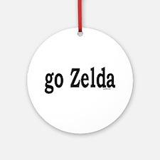 go Zelda Ornament (Round)
