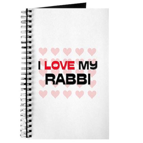 I Love My Rabbi Journal