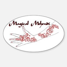 Logo Oval Decal