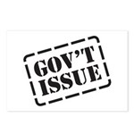 Government Issue Postcards (Package of 8)