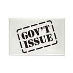 Government Issue Rectangle Magnet (10 pack)