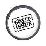 Government Issue Wall Clock