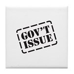 Government Issue Tile Coaster