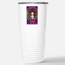Unique Harlequin clown Travel Mug