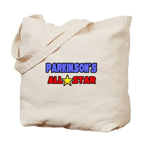 """""""Parkinson's All Star"""" Tote Bag"""