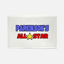 """Parkinson's All Star"" Rectangle Magnet"
