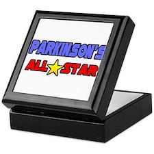 """Parkinson's All Star"" Keepsake Box"