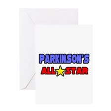 """Parkinson's All Star"" Greeting Card"