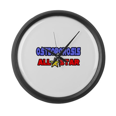 """""""Osteoporosis All Star"""" Large Wall Clock"""