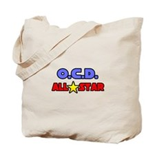 """OCD All Star"" Tote Bag"