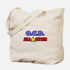 """OCD All Star"" Tote Bag"