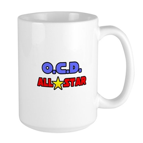 """OCD All Star"" Large Mug"