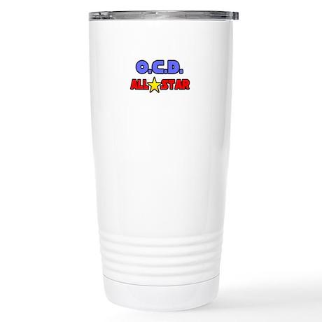 """""""OCD All Star"""" Stainless Steel Travel Mug"""