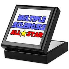 """Multiple Sclerosis All Star"" Keepsake Box"