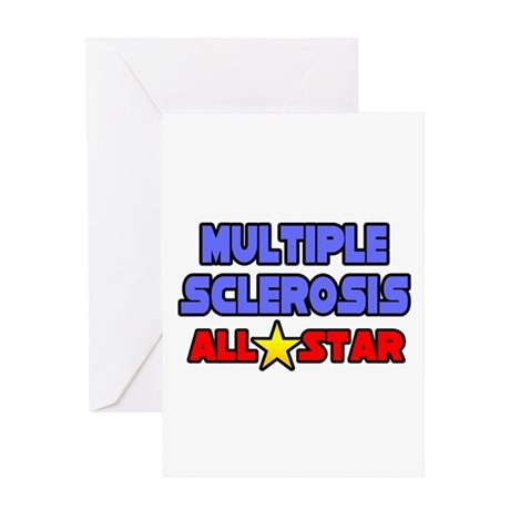 """Multiple Sclerosis All Star"" Greeting Card"