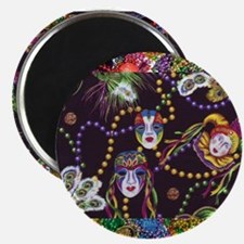 "Cute Mardi gras 2.25"" Magnet (100 pack)"