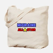 """Migraine All Star"" Tote Bag"