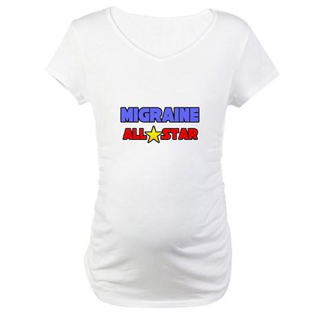 """Migraine All Star"" Maternity T-Shirt"