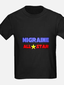 """Migraine All Star"" T"