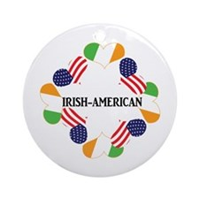 Irish American Gifts Ornament (Round)