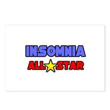 """""""Insomnia All Star"""" Postcards (Package of 8)"""
