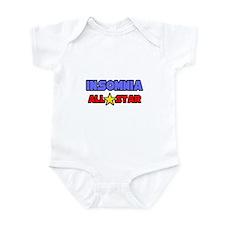 """""""Insomnia All Star"""" Infant Bodysuit"""