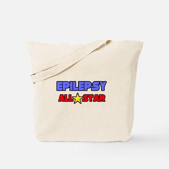 """Epilepsy All Star"" Tote Bag"