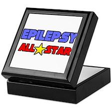 """Epilepsy All Star"" Keepsake Box"
