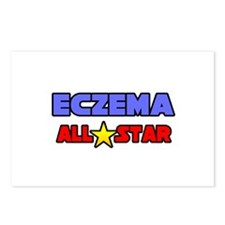 """""""Eczema All Star"""" Postcards (Package of 8)"""