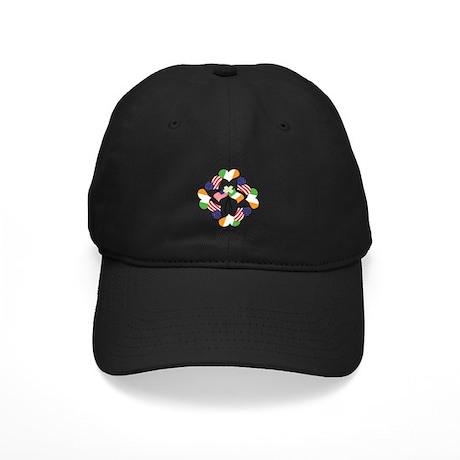 Patriotic Irish American Black Cap
